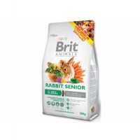 Brit Animals Rabbit Senior Complete 300 g, 1,5 kg