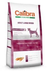 Calibra Dog GF Adult Large Breed Salmon  NEW